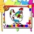 Chicken Coloring Book